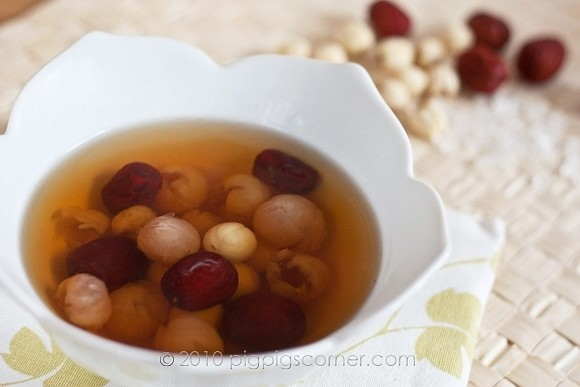 Longan with Red Dates & Lotus Seeds 1
