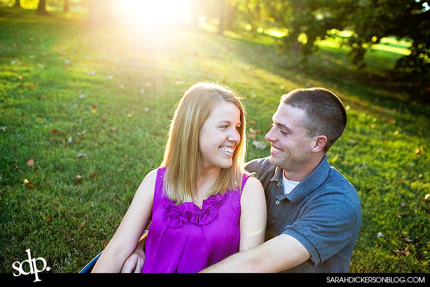 engagement photographers, Loose Park, Kansas City Missouri
