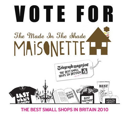 Vote The Maisonette!