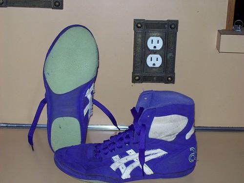 purple lyte wrestling shoes cheap online
