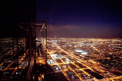 The Night Grid (Paul Octavious) Tags: summer chicago citygrid willistower