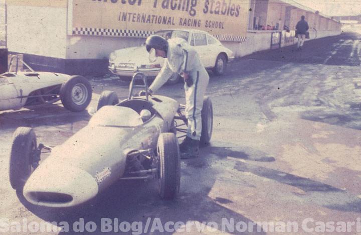 Fórmula_Escola de pilotagem_Inglaterra #1968