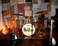 Fab Four Set-Up (Flamenco Sun) Tags: liverpool beatles lennon ringo mersey albertdock thebeatles magicalmysterytour macca beatlemania rivermersey thecavern strawberyfields johnpaulgeorgeringo