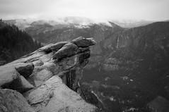 Glacier Point Vista 6 (B&W)