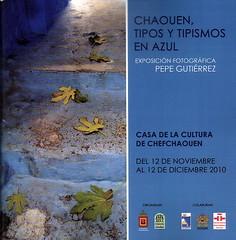 PROGRAMA DE EXPOSICION EN CHEFCHAOUEN (MARRUECOS)