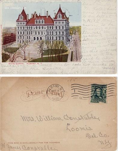 Albany - NY Capitol 1905