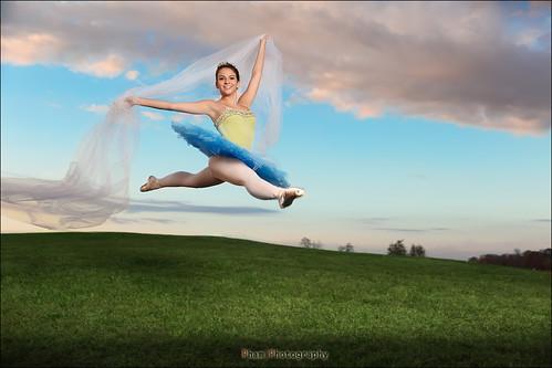 Nina Senior ~ Ballerina Jump