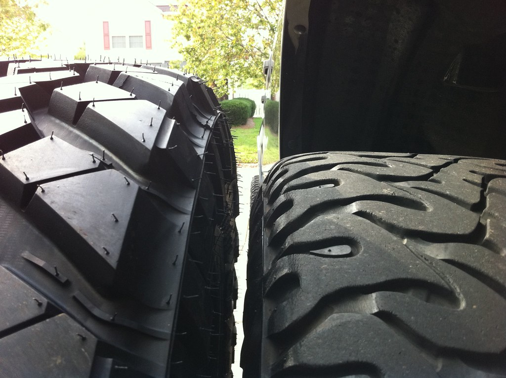 """35inch Nitto Trail Grapplers vs 33"""" Nitto Dune Grapplers"""
