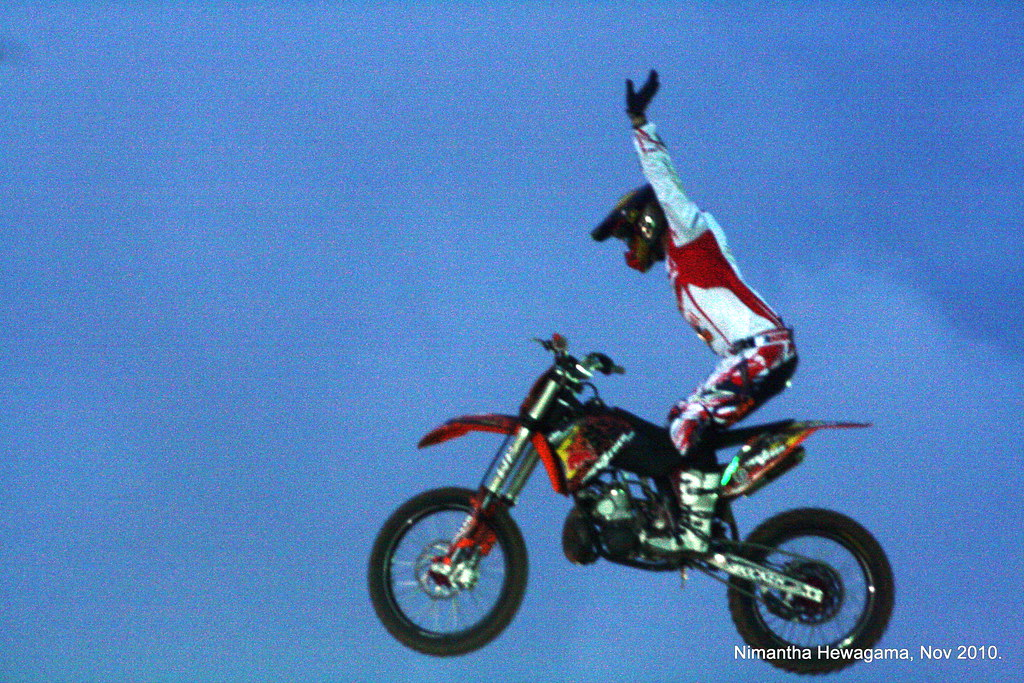 Red Bull X- Fighters Stunt Biking comes to Colombo