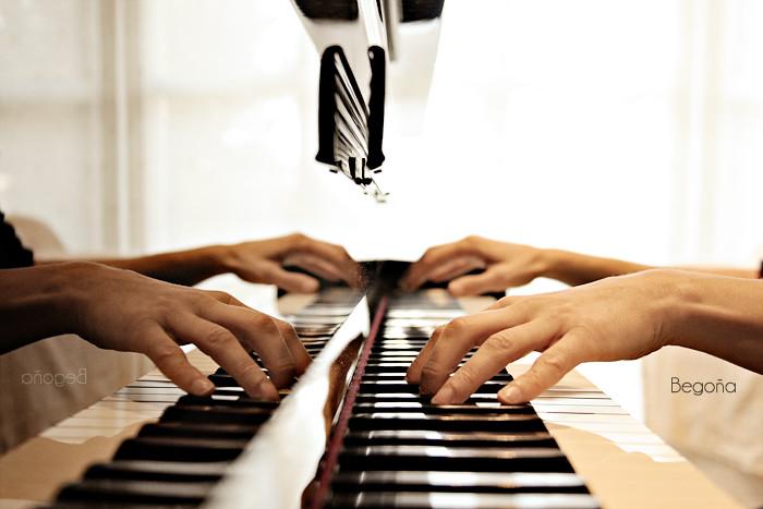 Sonata para 4 manos - Reflejos (ii) {Explore}