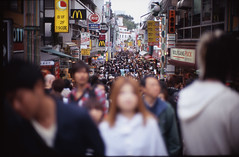 signe (TommyOshima) Tags: street people japan tokyo faces crowd f10 mcdonalds harajuku anonymous mauricemerleauponty