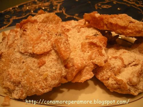 biscotti con corn flaks