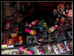 The Bangle Shop (Midhun Manmadhan) Tags: color colour shop hyderabad bangles cahrminar banglestreet
