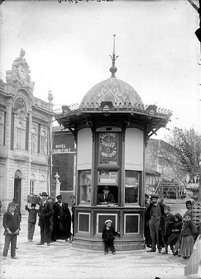 Braga - Quiosque no Campo de Santa Ana, 1911