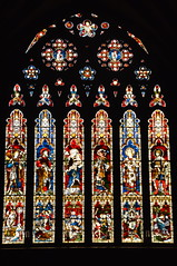 Stained Window, Lichfield Cathedral (Manoo Mistry) Tags: nikon tamron tamron18270mmzoomlens nikond5500bodyonly lichfield lichfieldcathedral cathedrals church churchcathedral gothic gothicarchitecture stained stainedglass