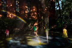 New York, USA. June 2017 (Victor M. Perez) Tags: leicaq leica playground streetphotography joy park summer children rainbow manhattan nyc newyork