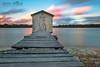 Wheelhouse Sunset (Beth Wode Photography) Tags: sunset dusk wheelhouse maroochydore maroochyriver jetty oldjetty le sunshinecoast sunsetclouds beth wode bethwode
