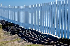 Fenced in (deanspic) Tags: fence landsend newfoundland lines shadows capespear g3x