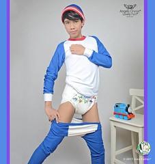 Gay in diaper