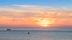 Het Marsdiep (Nelisie) Tags: huisduinen marsdiep langejaap lange jaap 80d canon80d 2470 lseries sunset sea northsea noordzee vuurtoren kotter fishing boat lighthouse lighthousedenhelder denhelder helder moon ebenvloed noordholland julianadorp paal6 marine dedijk dijk dike