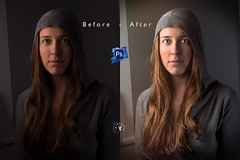 Mairi - before / after photoshop (Fabio Insalaco) Tags: postproduction post produzione postproduzione photoshop lightroom ritratto portrait female lady girl ragazza donna woman viso volto face faces adobe human being