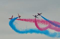 Red Arrows[explore] (neath stan the man) Tags: walesnationalairshow swanseabay redarrows wales wfc