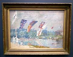 Alfred Sisley : Les Régates á Molesey, 1874. (neppanen) Tags: sampen discounterintelligence paris pariisi ranska france museo museum musee art taide kuvataide painting maalaus maalaustaide muséed'orsay d'orsay orsay d´orsay alfred sisley alfredsisley