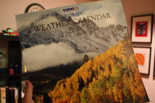 Colorado Weather Calendar