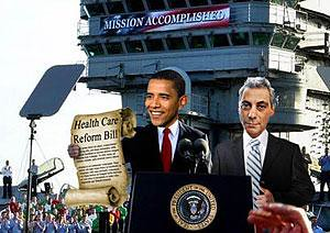 "Obama's ""Mission Accomplished"""