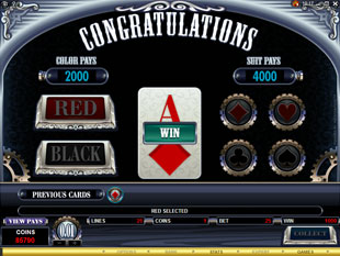 free Sterling Silver gamble bonus game