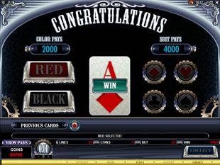free Sterling Silver gamble bonus game