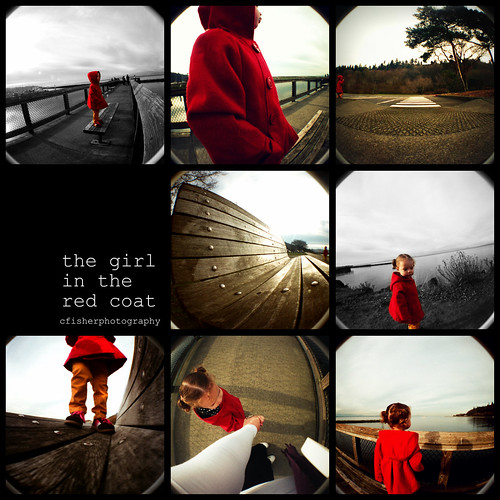 """""""the girl in the red coat"""" by cfisherphotography."""