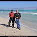 Bill and I at South Beach in Miami Fl........Bun Burner motorcycle ride.. 1500 miles in 36 hours from  San Antonio Texas to Key West Florida  Dec 2009
