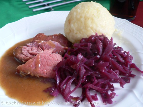 Schinkenbraten in Cola