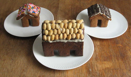 Gingerbread neighborhood.