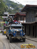 A fully loaded Jeep in Banaue