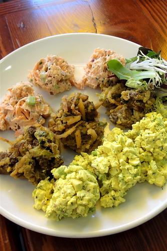 protein salad sampler blogger perk