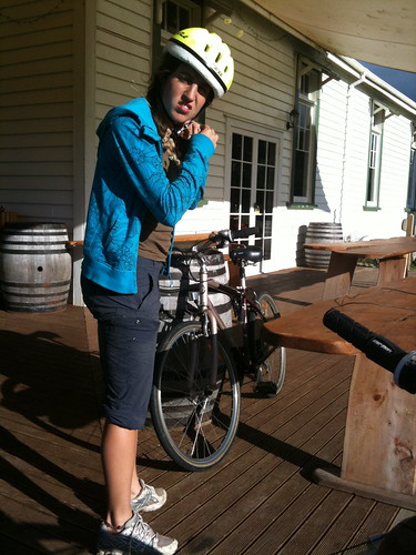 Bike ride at the brewery