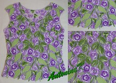 Lilac top (antonina.kuznetsova) Tags: motif top crochet multicoloured cotton freeform irishcrochet crochetlace lacefreeform motifcrochet antoninakuznetsova