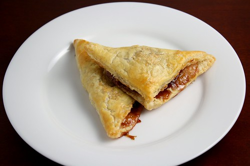 Chocolate Strawberry Turnovers