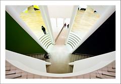 Down from above (Benjamin_R) Tags: museum architecture nikon frankfurt kunst sigma moderne architektur 1020mm 1020 d300 museumfürmodernekunst f4056 4056