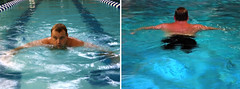 diptych (shannonrmason) Tags: swimming matt comic wheelchair speaker comedian motivation handicapped amputation deformed amputee disability motivationalspeaker deformation deformity legless nolegs glowacki wheelchairsports differentlyabled