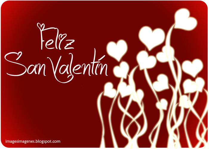 felicitacion de dia de san valentin