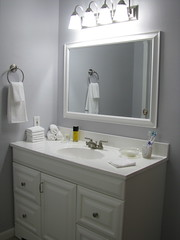 My Bathroom - After Renovation 2 (nbklx17 (Sandy)) Tags: white project bathroom gray update homesweethome updated beforeduringandafter bathroomrenovation afterrenovation