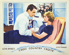 """Cross Country Cruise"" movie showing in cinema 'opera talkies' (myprivatecollection7) Tags: cruise movie earthquake opera cross country 1935 quetta talkies"