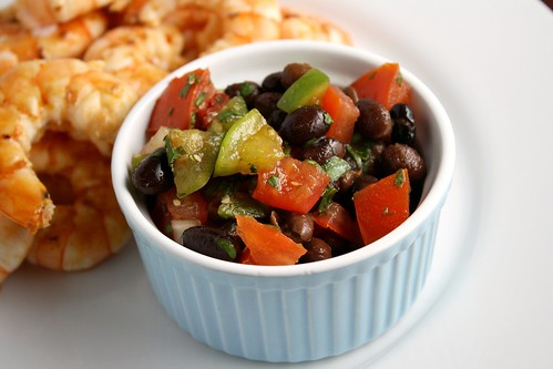 Tomato Black Bean Salsa