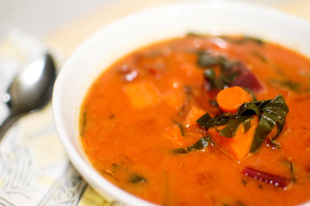 african quinoa soup-2