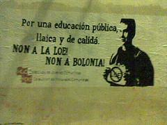 Axitacin campaa movimientu estudiantil en Xixn (CMC Asturies) Tags: bolonia loe xixon cjc cmc eees estudiantil unificacion