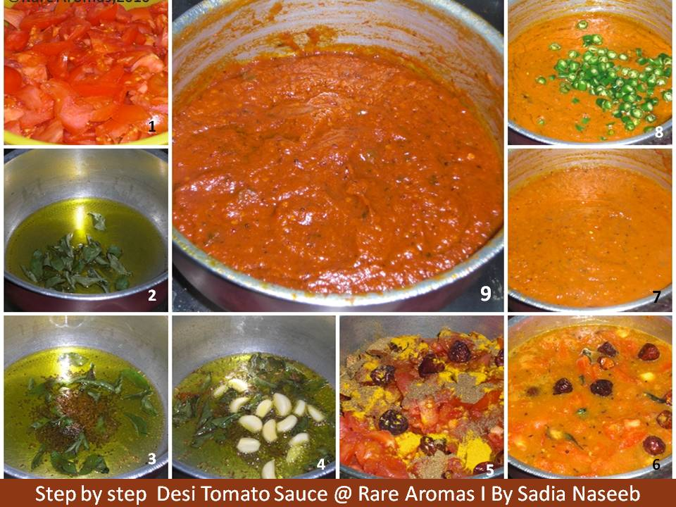 Tomato sauce page