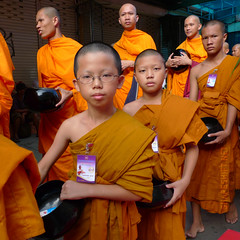 young thai monks (shapeshift) Tags: asia bangkok banglamphu boys candid celebration dlux4 khaosan leica men monks newyear people photodocumentary photojournalism portrait songkran southeastasia street streetphotgraphy thailand theorient travel davidpham shapeshift davidphamsf 2009 david phamman dpham streetphotography shapeshiftnet documentary